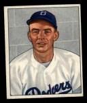 1950 Bowman #166  Joe Hatten  Front Thumbnail