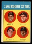 1963 Topps #228   -  Tony Oliva / Max Alvis / Bob Bailey / Ed Kranepool  Rookies   Front Thumbnail