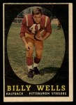 1958 Topps #49  Billy Wells  Front Thumbnail