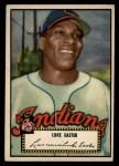 1952 Topps #24 BLK Luke Easter  Front Thumbnail