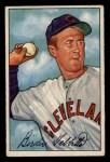 1952 Bowman #124  Birdie Tebbetts  Front Thumbnail