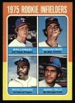 1975 Topps #617   Rookie Infielders    -  Mike Cubbage / Doug DeCinces / Reggie Sanders / Manny Trillo Front Thumbnail