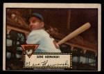 1952 Topps #16 BLK Gene Hermanski  Front Thumbnail