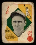 1951 Topps Red Back #52 BOS Tommy Holmes  Front Thumbnail