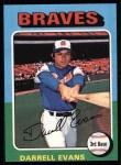 1975 Topps #475   Darrell Evans Front Thumbnail