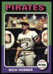 1975 Topps #492   Rich Hebner Front Thumbnail