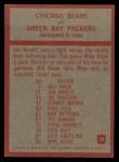 1965 Philadelphia #28  Bears' Play of the Year  -  George Halas Back Thumbnail