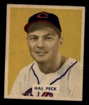 1949 Bowman #182  Hal Peck  Front Thumbnail