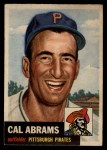 1953 Topps #98   Cal Abrams Front Thumbnail