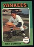 1975 Topps #451   Rick Dempsey Front Thumbnail