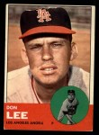 1963 Topps #372 COR Don Lee  Front Thumbnail