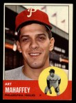 1963 Topps #385  Art Mahaffey  Front Thumbnail