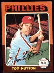 1975 Topps #477  Tom Hutton  Front Thumbnail