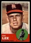 1963 Topps #372 ERR  Don Lee Front Thumbnail