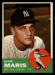 1963 Topps #120  Roger Maris  Front Thumbnail