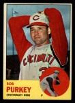 1963 Topps #350  Bob Purkey  Front Thumbnail
