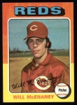 1975 Topps #481  Will McEnaney  Front Thumbnail