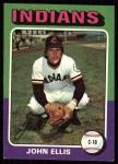 1975 Topps #605  John Ellis  Front Thumbnail
