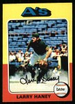 1975 Topps #626   Larry Haney Front Thumbnail