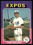 1975 Topps #627   Tom Walker Front Thumbnail