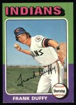 1975 Topps #448   Frank Duffy Front Thumbnail