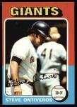 1975 Topps #483   Steve Ontiveros Front Thumbnail