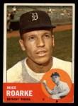 1963 Topps #224 ERR  Mike Roarke Front Thumbnail