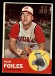 1963 Topps #326   Hank Foiles Front Thumbnail