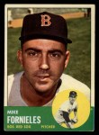 1963 Topps #28 BLU  Mike Fornieles Front Thumbnail