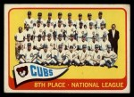 1965 Topps #91  Cubs Team  Front Thumbnail