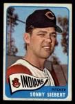 1965 Topps #96  Sonny Siebert  Front Thumbnail