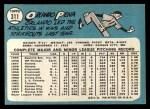 1965 Topps #311  Orlando Pena  Back Thumbnail