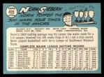 1965 Topps #455  Norm Siebern  Back Thumbnail