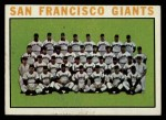 1964 Topps #257   Giants Team Front Thumbnail