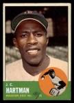 1963 Topps #442  J.C. Hartman  Front Thumbnail