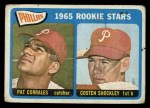 1965 Topps #107  Phillies Rookies  -  Pat Corrales / Costen Shockley Front Thumbnail
