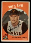 1959 Topps #12   Vern Law Front Thumbnail