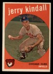 1959 Topps #274   Jerry Kindall Front Thumbnail