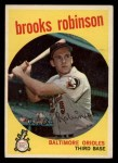 1959 Topps #439   Brooks Robinson Front Thumbnail