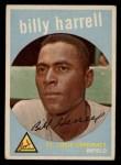 1959 Topps #433   Billy Harrell Front Thumbnail