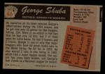 1955 Bowman #66  George Shuba  Back Thumbnail