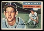 1956 Topps #17   Gene Conley Front Thumbnail