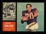 1962 Topps #94  Tommy Mason  Front Thumbnail