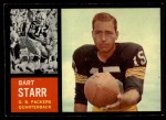 1962 Topps #63   Bart Starr Front Thumbnail