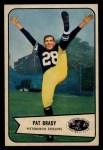 1954 Bowman #13   Pat Brady Front Thumbnail