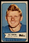 1954 Bowman #34  Bill Howton  Front Thumbnail