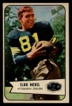1954 Bowman #108   Elbert Nickel Front Thumbnail