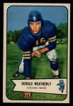 1954 Bowman #47  Gerald Weatherly  Front Thumbnail