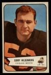 1954 Bowman #95   Jerry Hilgenberg Front Thumbnail
