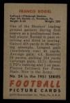 1951 Bowman #24  Fran Rogel  Back Thumbnail